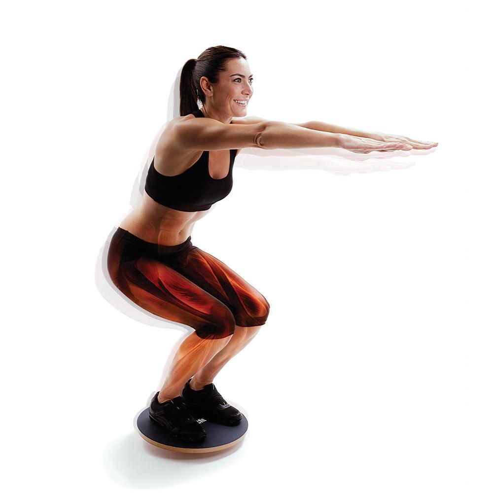 B Board Balance Your Workout: Rocker Boards And Balance Boards / Wobble Boards